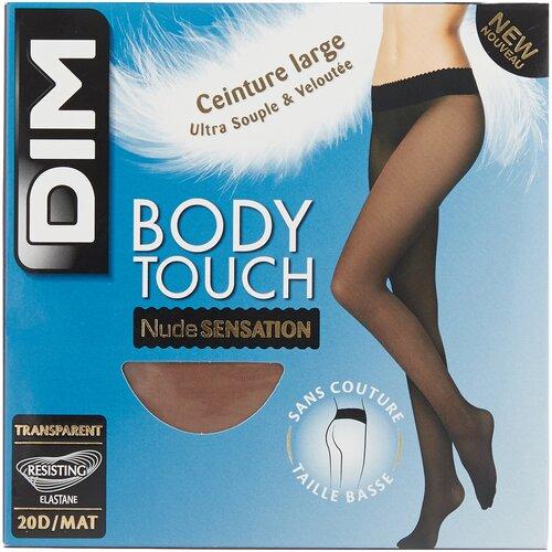 Колготки DIM Body Touch Nude Sensation Transparent, 20 den, размер 1, телесный (бежевый) чулки dim dim up nude sensation