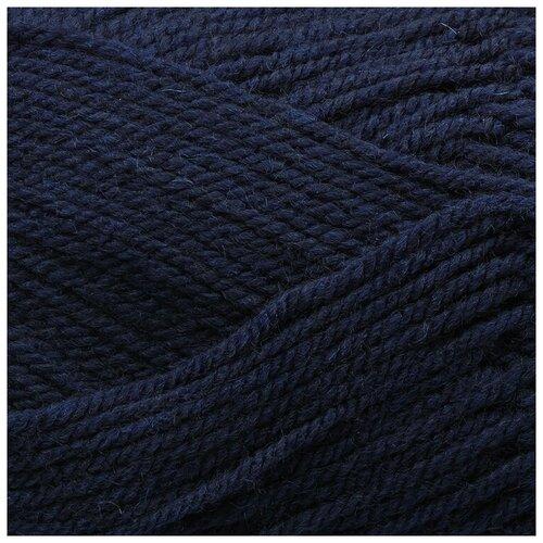 Купить Пряжа Пехорка Народная , 220 метров, 5 мотков по 100 грамм, цвет: 571 синий
