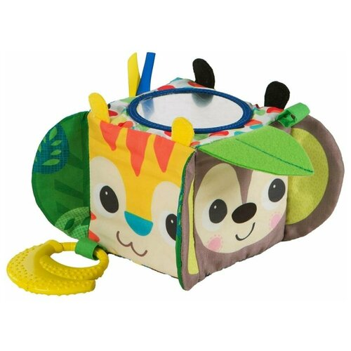 Фото - Развивающая игрушка Bright Starts Мягкий кубик с прорезывателем развивающая игрушка roxy kids на руку с прорезывателем совенок угу rbt20024