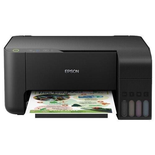 Фото - МФУ Epson L3100, черный мфу epson l3100 черный