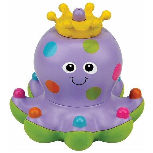 Купить Игрушка для ванной K's Kids Осьминожка Клёпа (KA694) фиолетовый/зеленый/желтый, Игрушки для ванной