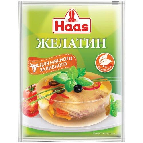 Haas Желатин для мясного заливного (1 шт. по 25 г)