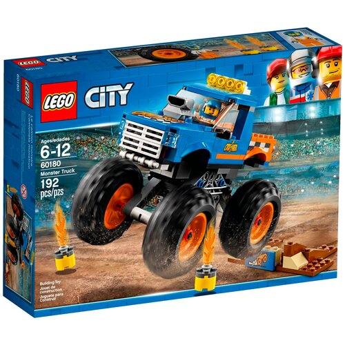 Купить Конструктор LEGO City 60180 Монстрогрузовик, Конструкторы