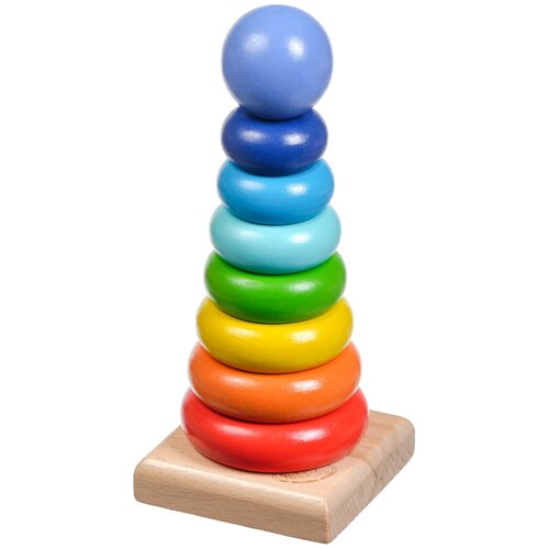 сборная модель мир деревянных игрушек ракетная установка п052 Пирамидка Мир деревянных игрушек Круг