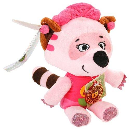 Фото - Мягкая игрушка Мульти-Пульти Ми-ми-мишки Енот Соня 20 см мягкая игрушка мульти пульти ежик 20 см