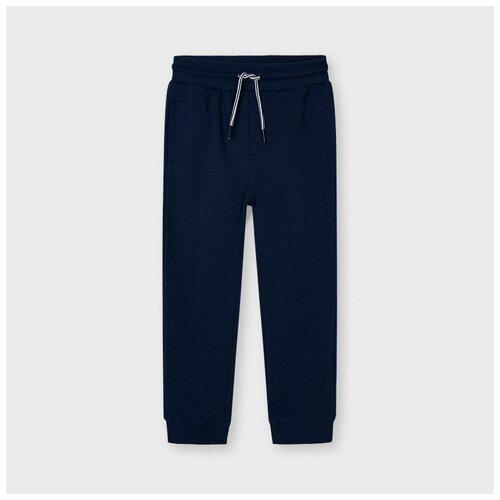 Подростковые спортивные брюки Mayoral синие 12 л.