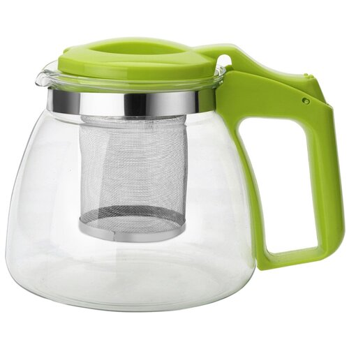 Фото - Appetite Заварочный чайник YZ121 900 мл, зеленый чайник заварочный 0 95л rose зеленый