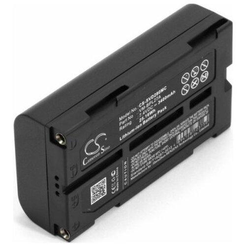 Фото - Аккумуляторная батарея для фото-видеокамер Hitachi VM/D/E/H. JVC GR-DVL9000U. Panasonic AG-BP/EZ/GA/NV-DE/DJ/DL/DP/DR Series 7.4V 3400mAh клей аквенс ga 6642 gel aquence ga 6642 gel 20 кг
