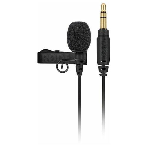 Микрофон RODE Lavalier GO, черный