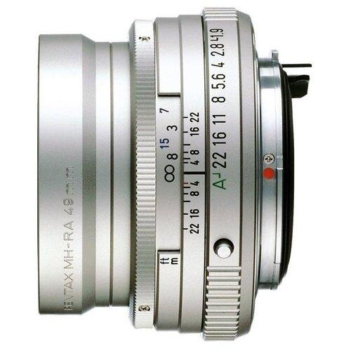Объектив Pentax SMC FA 43mm f/1.9 Limited серебристый