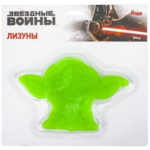 Лизун 1 TOY Звёздные войны Йода Т16653 зеленый