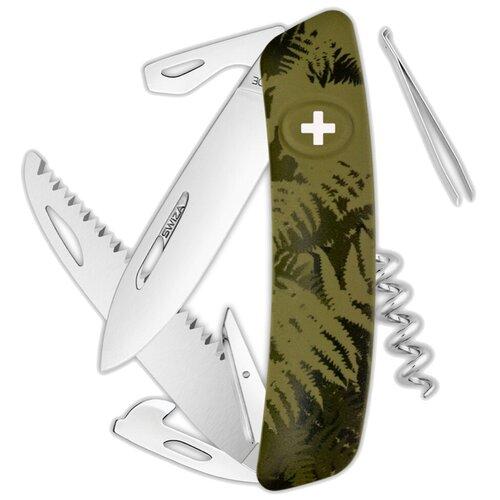 Нож многофункциональный SWIZA C05 Camouflage зеленый