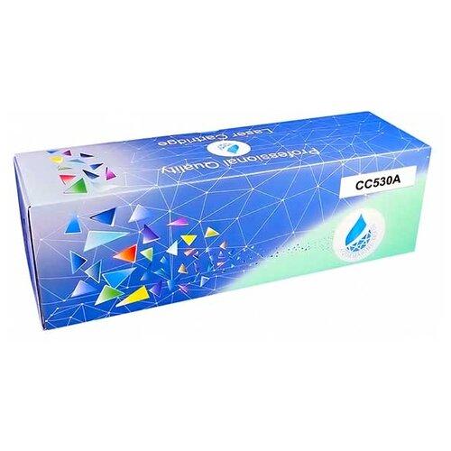 Фото - Картридж Aquamarine CC530A (совместимый с HP CC530A / HP 304A), цвет - черный, на 4000 стр. печати картридж комус 304a cc530a совместимый