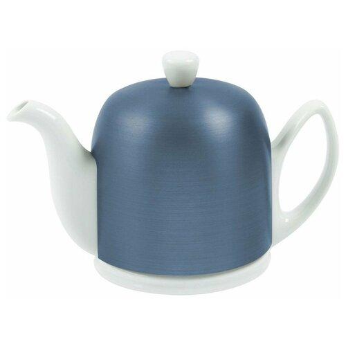 Фото - Чайник заварочный Salam White (0.7 л), с колпаком, на 4 чашки 225358 Guy Degrenne чайник заварочный salam white 0 37 л с колпаком с ситечком на 2 чашки 211987 guy degrenne