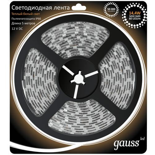 Светодиодная лента gauss 311000114, 5 м