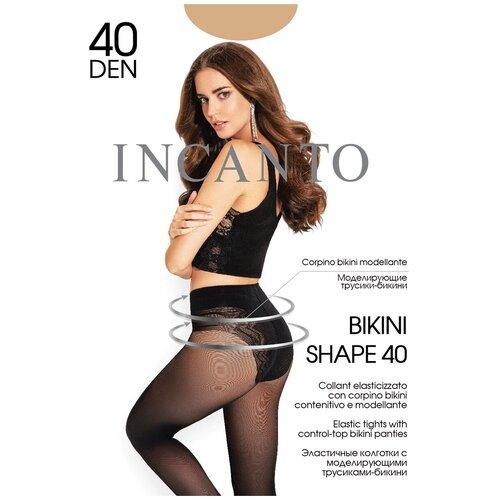 Колготки Incanto Bikini Shape, 40 den, размер 4-L, melon (бежевый)