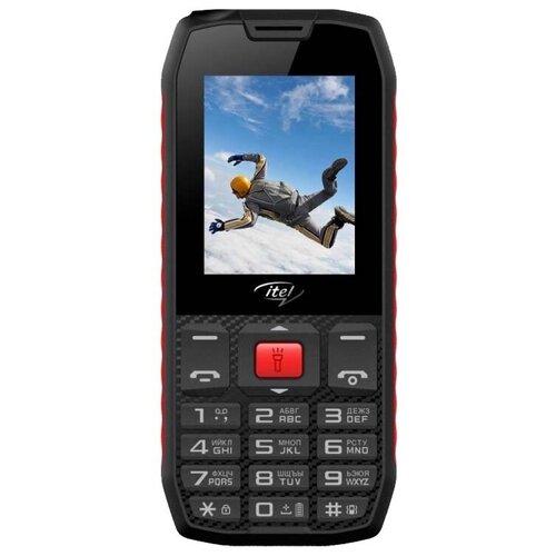 Телефон Itel it4510 черный / красный
