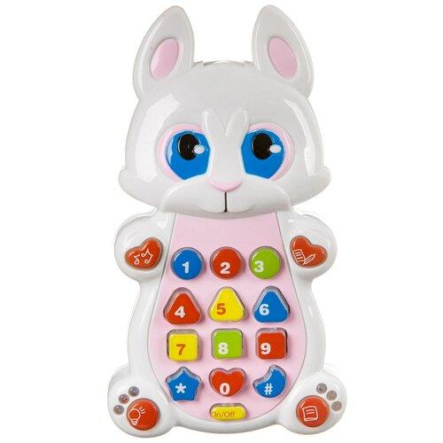 Интерактивная развивающая игрушка Play Smart Детский смартфон 7613, белый