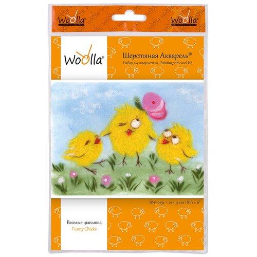 Купить Woolla WA-0132 набор Веселые цыплята ., Валяние
