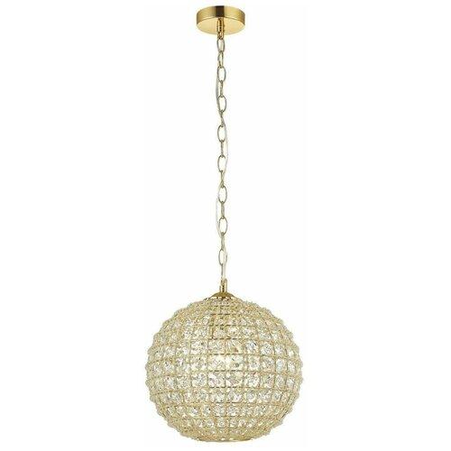 Люстра Favourite Splendor 1946-1P, E27, 60 Вт, кол-во ламп: 1 шт., цвет арматуры: золотой, цвет плафона: золотой