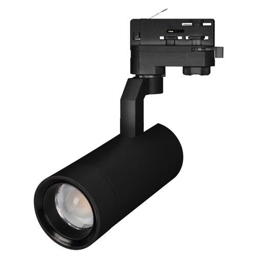 Трековый светильник-спот Arlight LGD-GELIOS-4TR-R67-20W Day4000 (BK, 20-60 deg) трековый светильник спот arlight lgd zeus 4tr r88 20w day bk 20 60 deg