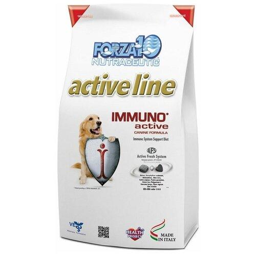 Сухой корм для собак Forza10 Active All Breeds Adult Immuno при заболеваниях иммунной системы (10 кг)