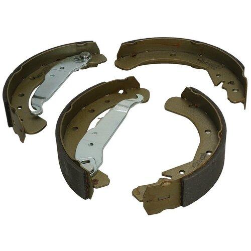 Барабанные тормозные колодки задние Bosch 0986487658 для Opel Astra, Opel Combo, Opel Zafira (4 шт.) дисковые тормозные колодки задние bosch 0986424646 для opel astra opel zafira 4 шт
