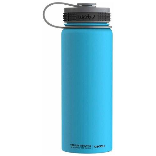 Термобутылка Asobu Alpine flask, 0.53 л синий