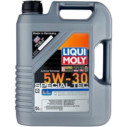 Моторное масло LIQUI MOLY Special Tec LL 5W-30, 5 л
