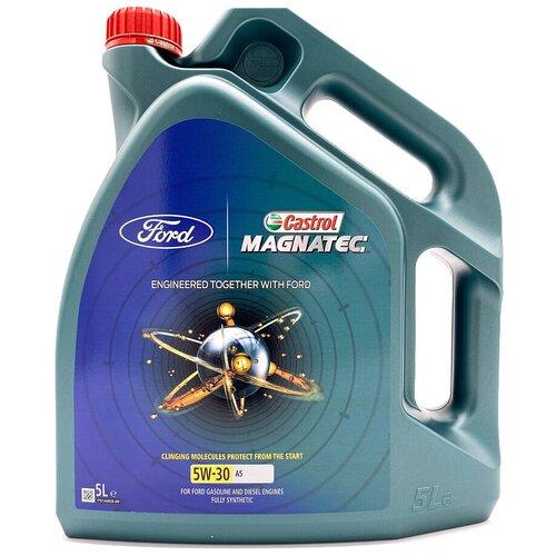 Синтетическое моторное масло Castrol Magnatec Professional A5 5W-30, 5 л по цене 2 785
