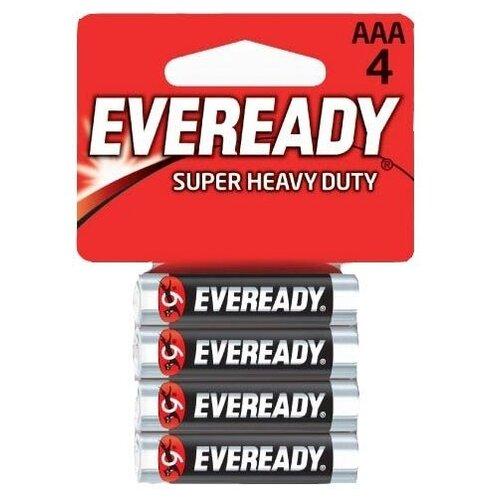 Фото - Батарейка EVEREADY Super Heavy Duty ААА/R03, 4 шт. батарейка kodak r20 extra heavy duty kdhz 24 144 6912