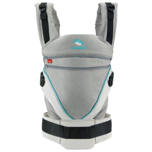 Купить Эргорюкзак Manduca XT grey/ocean, Рюкзаки и сумки-кенгуру