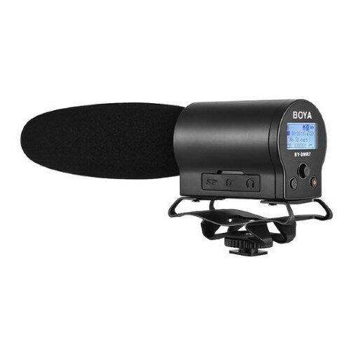 Фото - Микрофон пушка для DSLR камер и видеокамер Boya BY-DMR7 boya by c03 амортизатор для микрофона