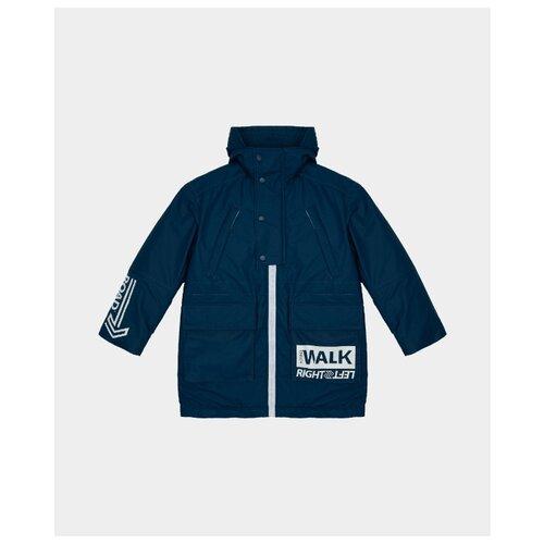 Купить Куртка Gulliver размер 170, синий, Куртки и пуховики