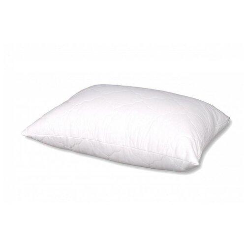 Подушка АльВиТек стеганная Гостиница-Микрофибра (ПГС-МФ-070) 68 х 68 см белый подушка альвитек лён плн 070 68