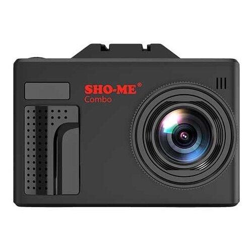 Видеорегистратор с радар-детектором SHO-ME Combo Note MStar, GPS, ГЛОНАСС, черный автомобильный видеорегистратор sho me combo note mstar