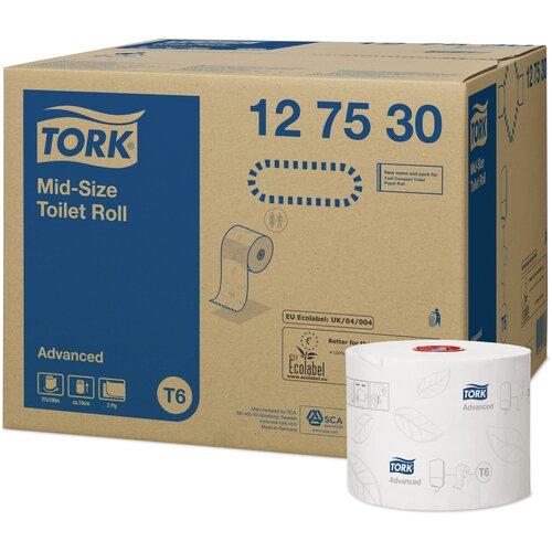 туалетная бумага tork advanced 120231 12 рул Туалетная бумага TORK Advanced 127530 27 рул.