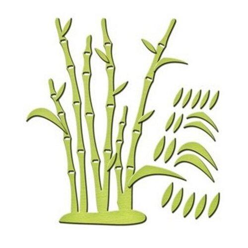 Нож для вырубки Spellbinders Бамбуковая вечеринка (IN-044) 2 шт. зеленый