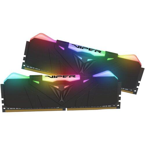Фото - Оперативная память Patriot Memory VIPER RGB 16GB (8GBx2) DDR4 3200MHz DIMM 288-pin CL16 PVR416G320C6K оперативная память patriot memory viper rgb 16gb 8gbx2 ddr4 4133mhz dimm 288 pin cl19 pvr416g413c9k