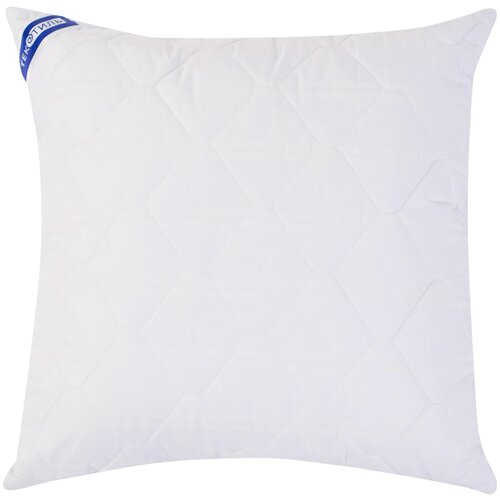 Подушка ТекСтиль Бамбук/сатин 70 х 70 см белый