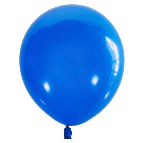 Набор воздушных шаров МФ ПОИСК Пастель 30 см (100 шт.) синий набор воздушных шаров miraculous металлик 100 шт синий