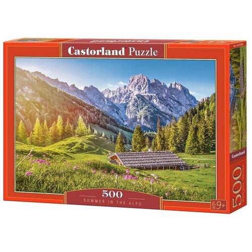 Фото - Пазл Castorland Лето в Альпах (B-53360), 500 дет. пазл castorland лето в альпах b 53360 500 дет