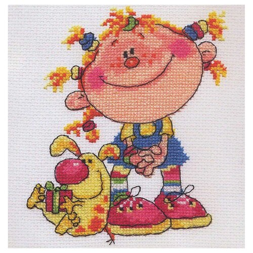 Купить 0-04 Набор для вышивания АЛИСА 'Егоза' 11*14см, Алиса, Наборы для вышивания