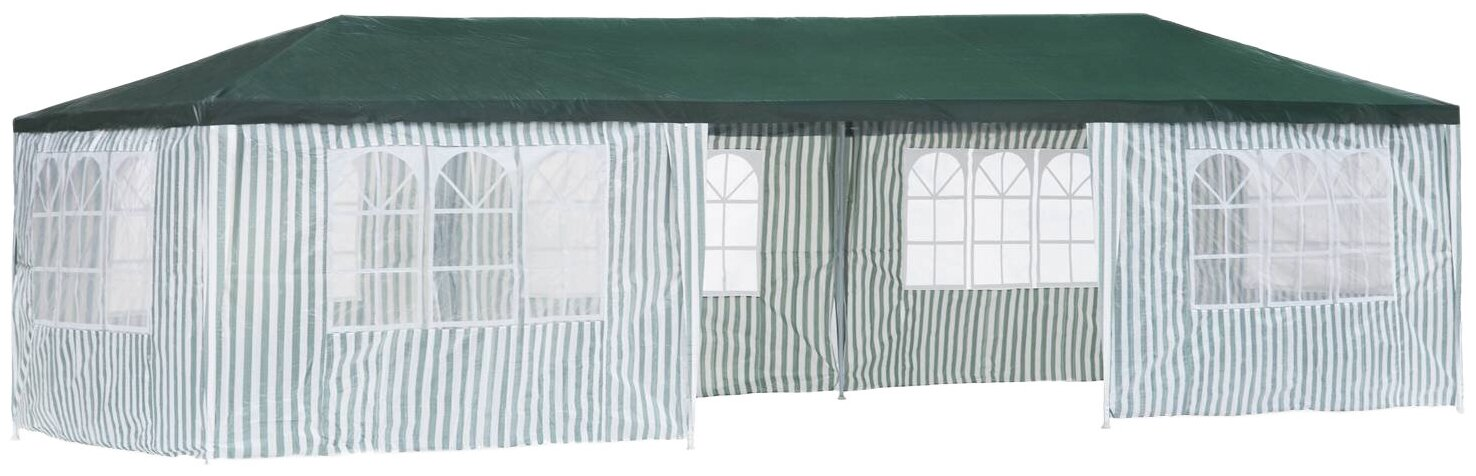 Шатер Green Glade 1070, со стенками, 9 х 3 х 2.5 м