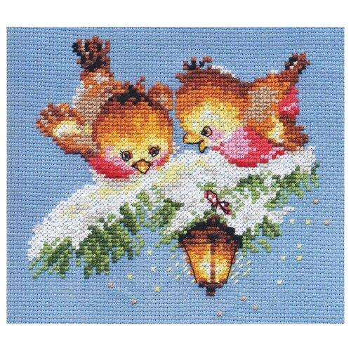Купить 0-102 Набор для вышивания АЛИСА 'На огонек' 14*13см, Алиса, Наборы для вышивания