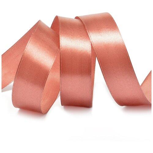 Купить Лента атласная 1 (25мм) цв.3123 гр.розовый IDEAL уп.27, 4 м, Декоративные элементы
