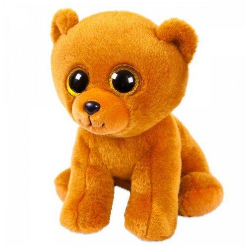 Купить Мягкая игрушка ABtoys Медвежонок бурый 24 см., Мягкие игрушки