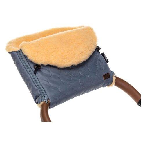 Купить Муфта меховая для коляски Nuovita Polare Pesco (Grigio/Серый), Аксессуары для колясок и автокресел