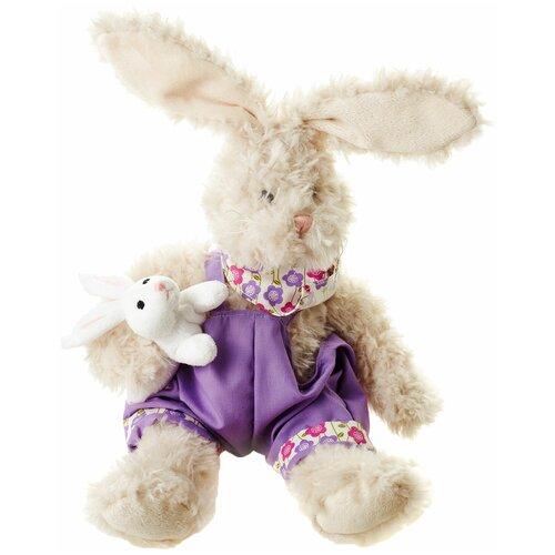 Мягкая игрушка Maxitoys Заяц Костя 26 см игрушка мягкая maxitoys калифорнийский кролик 30 см
