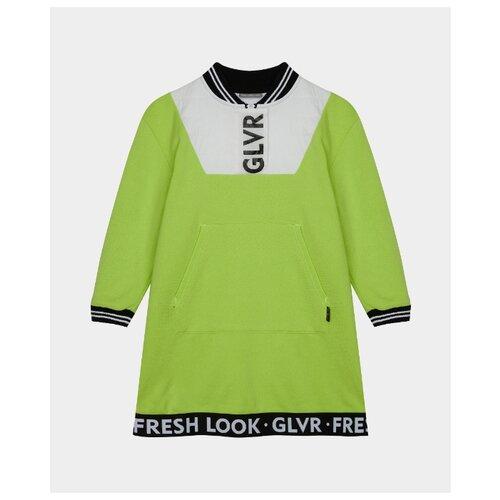 Купить Платье Gulliver размер 122, салатовый, Платья и сарафаны